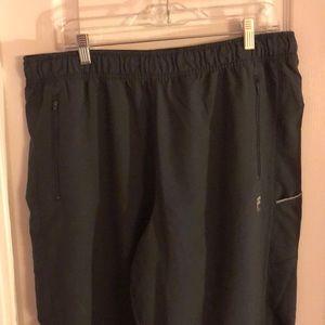 Dark Gray Fila Track Pants